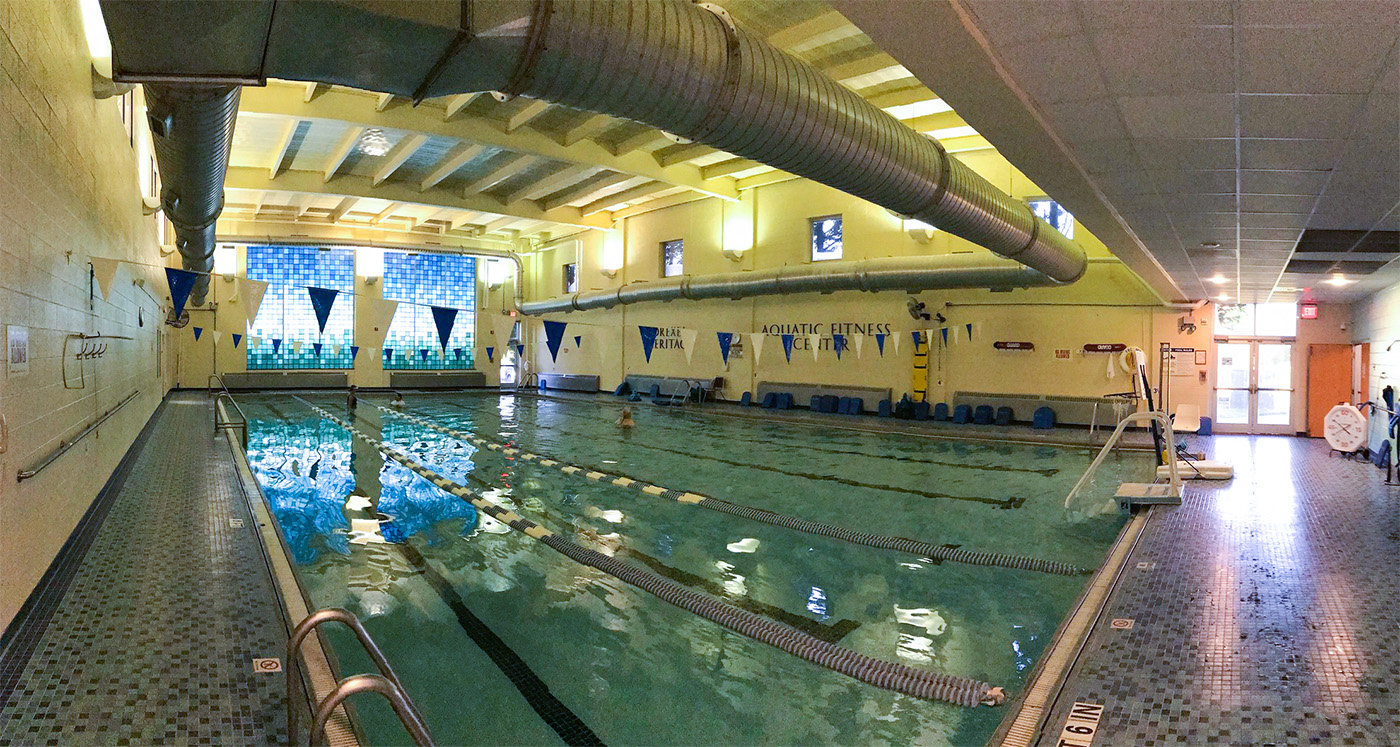 Pool at Phifer Wellness Center