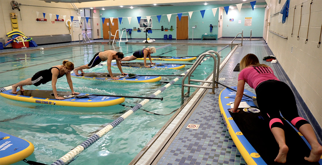 Water Class at Phifer Wellness Center