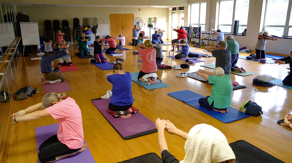Yoga Class at Phifer Wellness Center